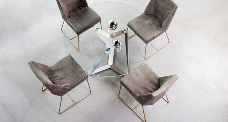 TROPEZ ROUND TABLE DINING ROOM